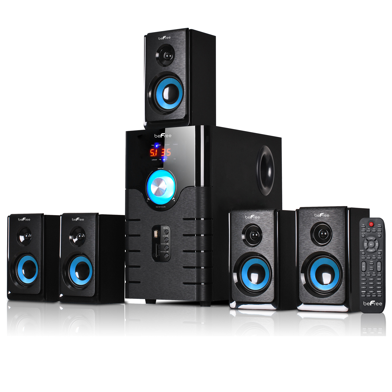 5.1 Channel Home Theater Systems